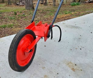 轮式锄头-手扶拖拉机-园艺工具