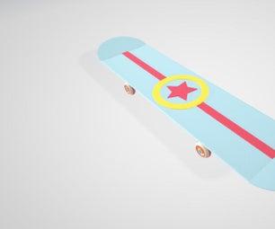 The Star of Glory Skateboard