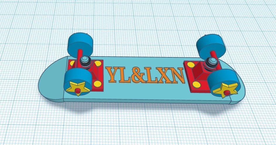 Picture of LXN&YL_Skateboard
