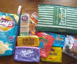 回收的包装袋