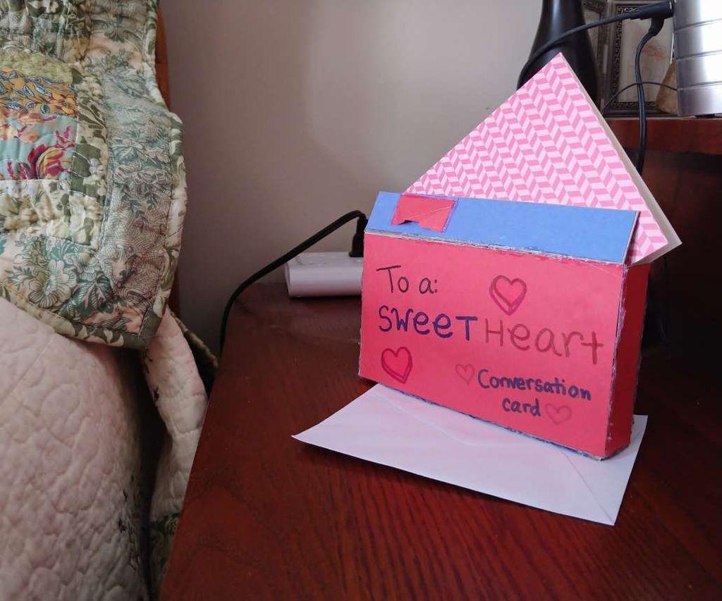 SweetHeart Candy Surprise Envelope/Box