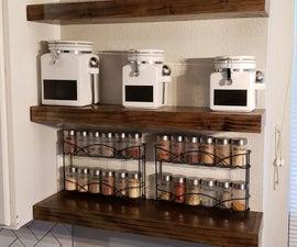 Wood Floating Shelves
