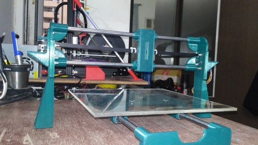MOUNTING THE Y-AXIS SETUP