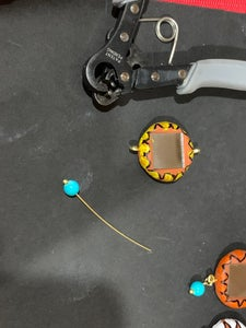 Adding the Hanging Beads