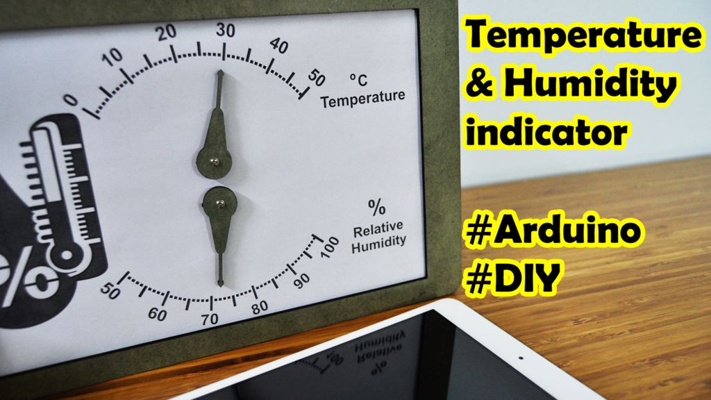 Picture of Temperature and Humidity Indicator by Arduino