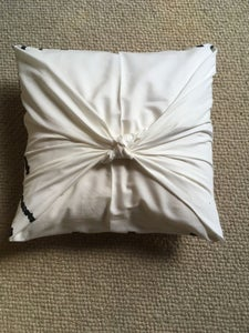 Make a No Sew Cover for Your New Pillow