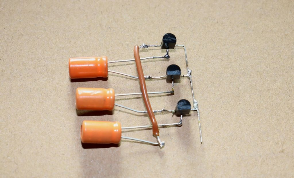 Picture of Connect +ve Pin of 3rd Capacitor