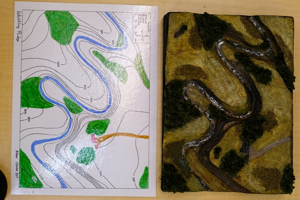 Picture of Elaborate: Trace and Create the Final Topographic Map