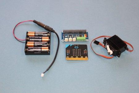 WaveShare Motor/Servo Driver With Micro:bit