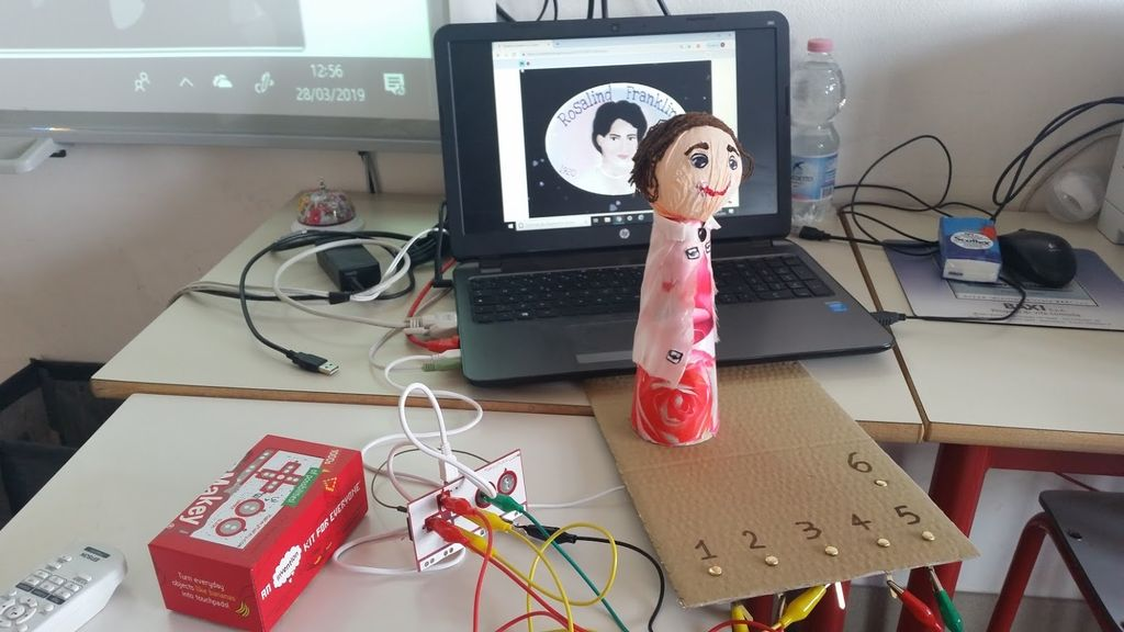 Picture of Collegare Makey Makey