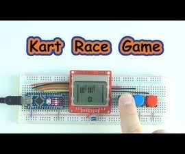 Kart Race Game Arduino