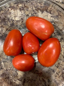 Chop Approximately 5-6 Roma Tomatoes