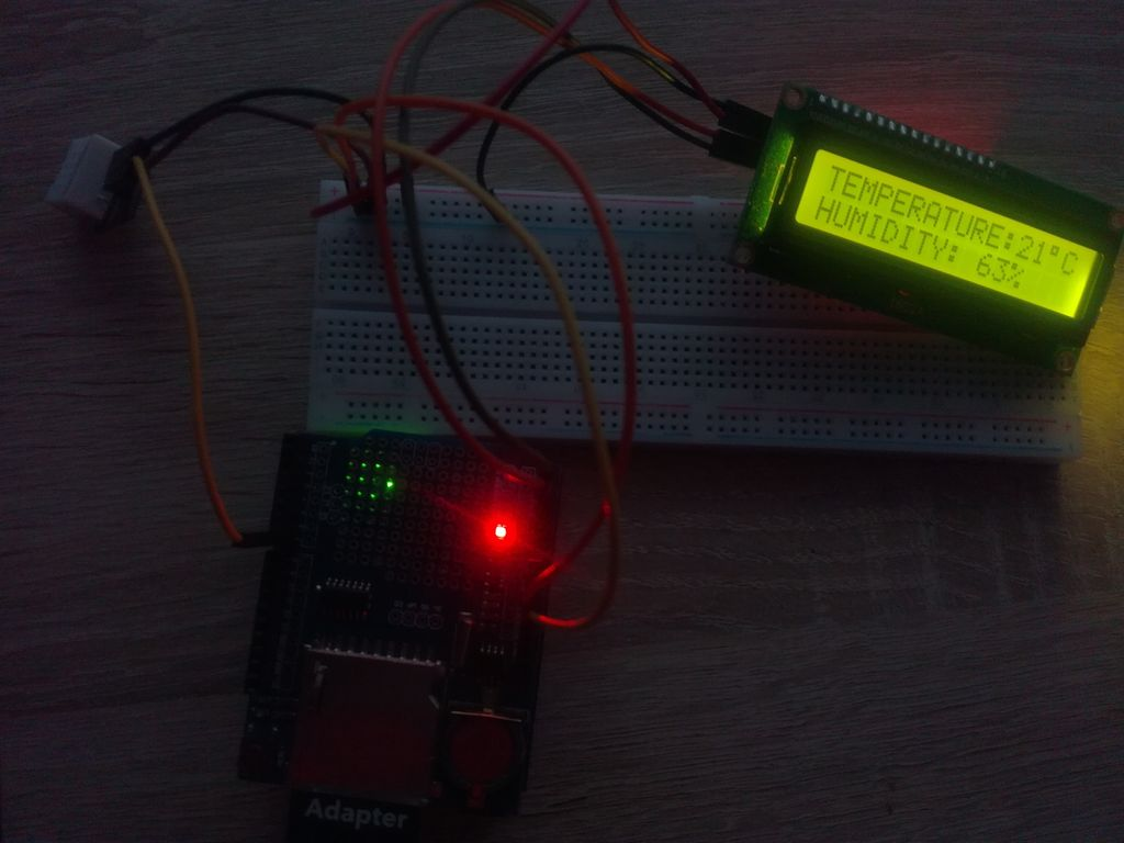 Picture of Arduino Data Logger Shield Small Project