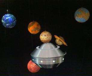 不明飞行物 - 超级电容的推动扁球体