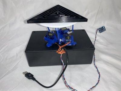 Gyro Sensor Controlled Platform for Maze Puzzle