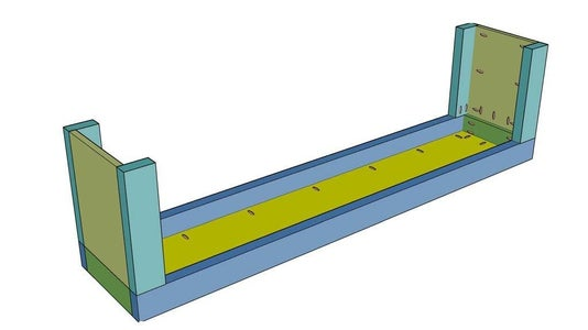 Assemble and Attach Legs to Bench