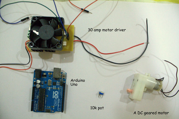 Make Your Own Low Cost Servo