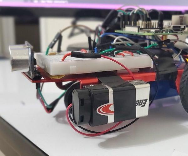 Robotic Car From Raspberry PI