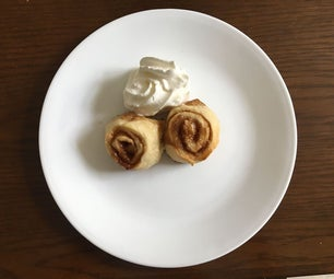 Mini Butterscotch Scrolls