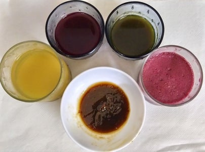 Juice, Extract, Puree and Paste Is Ready