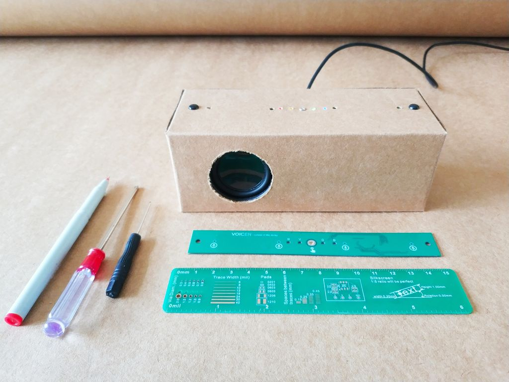 Picture of Make a Speaker Smart Paper Case by Hand