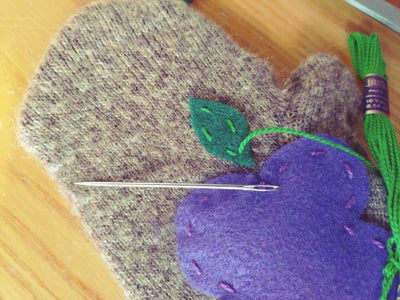 Sewing Your Leaves