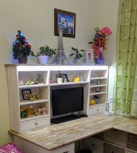 White 'Vintage' Corner Desk
