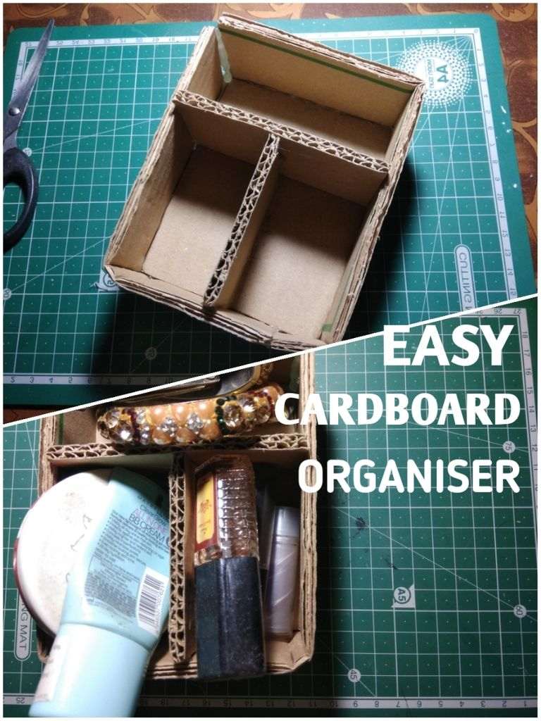 Picture of Easy Cardboard Organizer