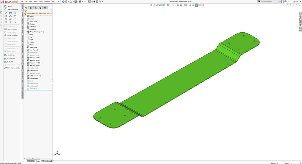 Picture of ​CAD (SolidWorks):