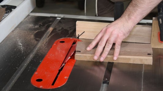 Cut the Miters on the #1 Boards