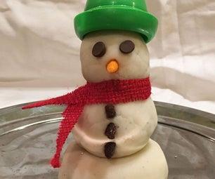Real Snow Play Dough