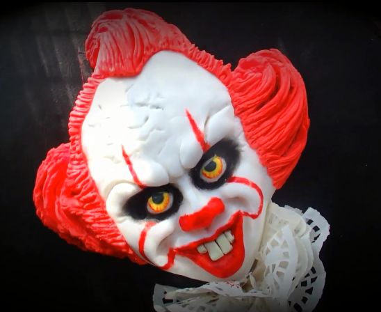 Picture of Pennywise IT Cake
