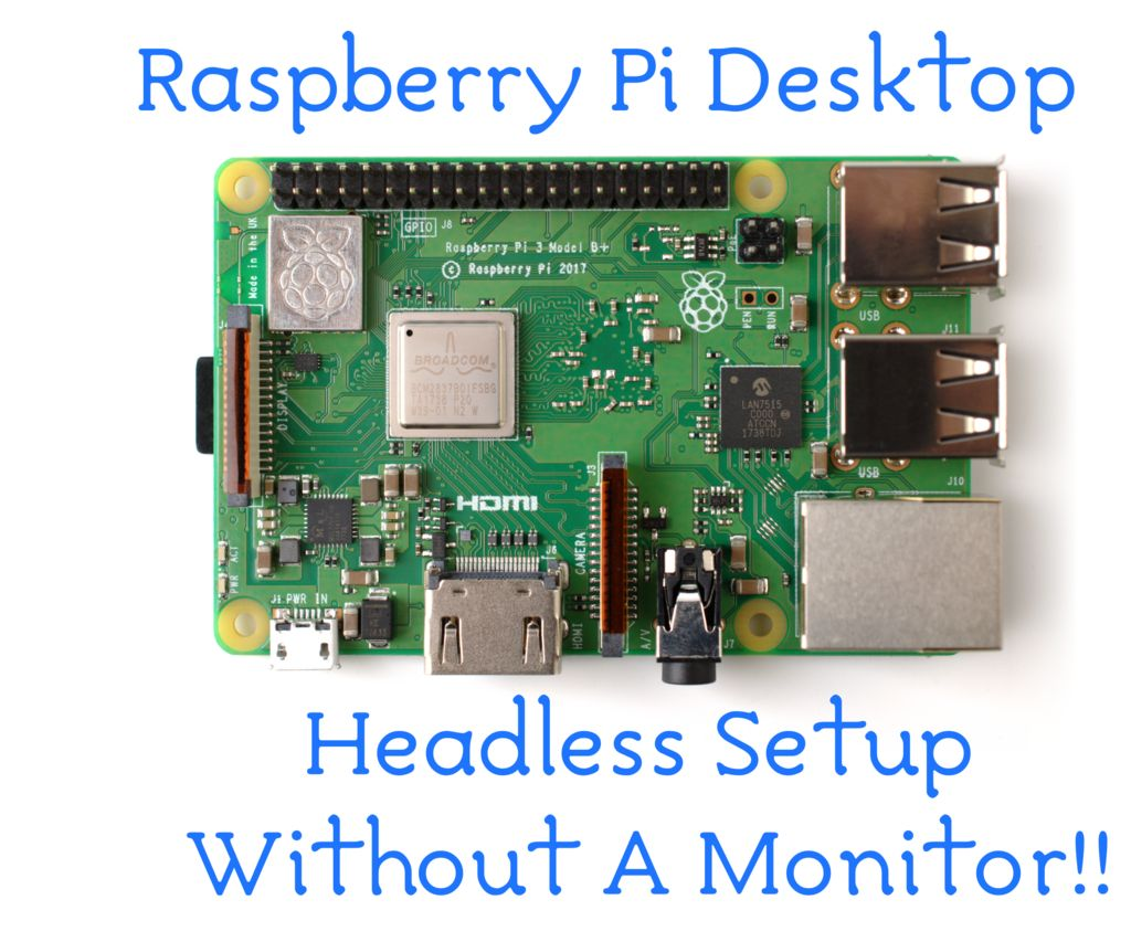 Raspberry Pi Desktop: Secure Headless Setup Without a Display
