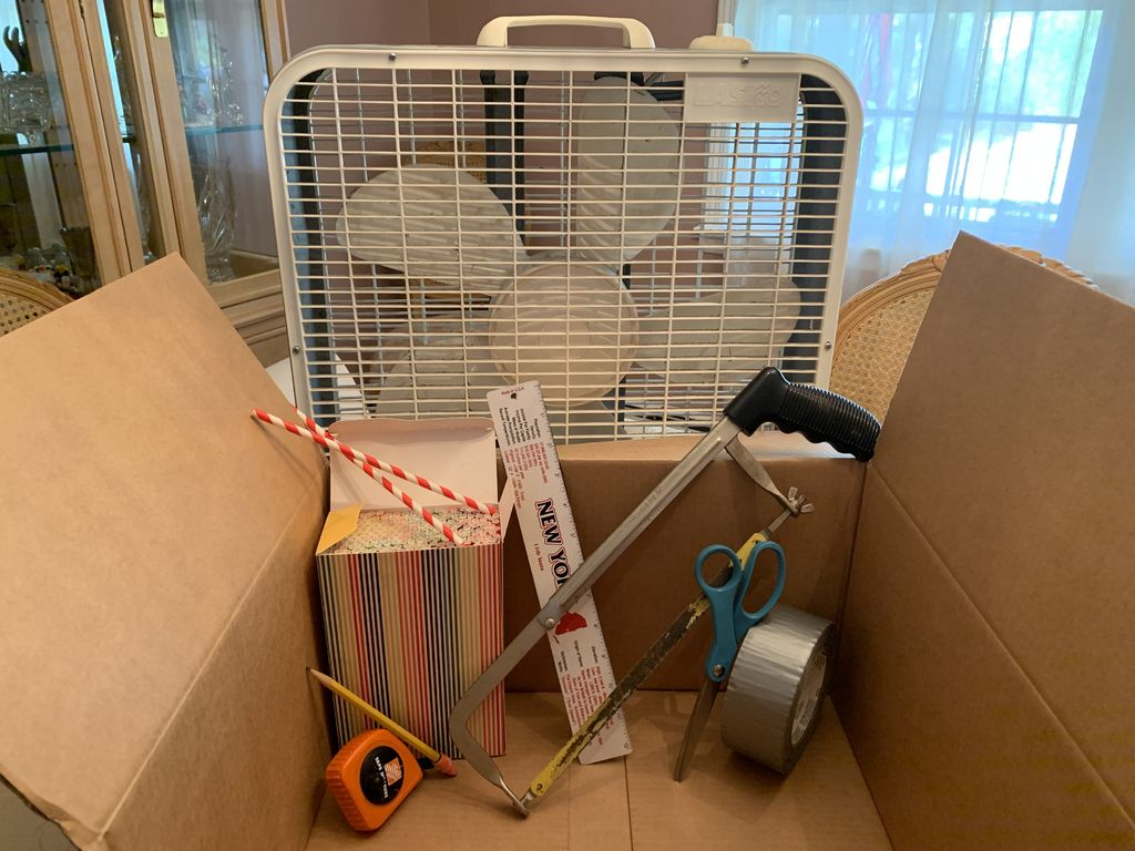 Picture of Cardboard Wind Tunnel