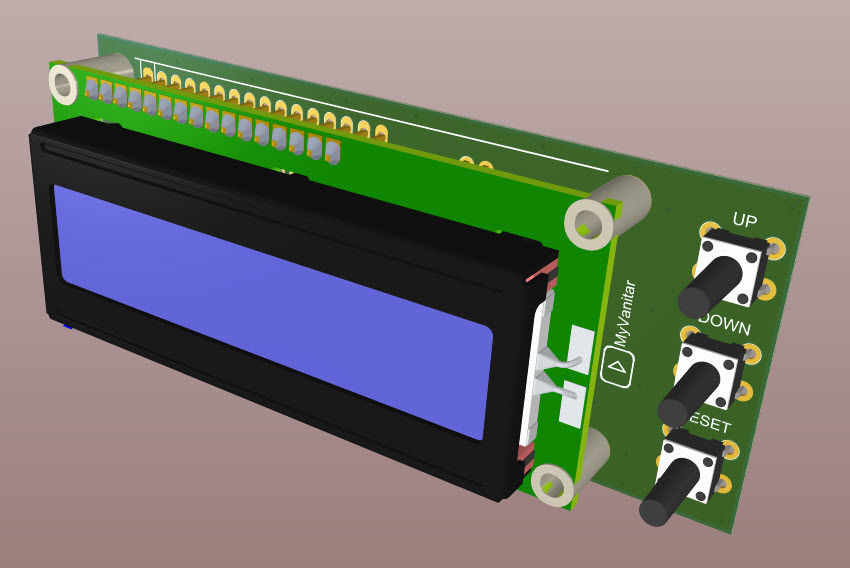 Picture of Figure 5: a 3D View of the Assembled PCB Board (TOP), Figure 6: a 3D View of the Assembled PCB Board (Side), Figure 7: a 3D View of the Assembled PCB Board (Bottom)