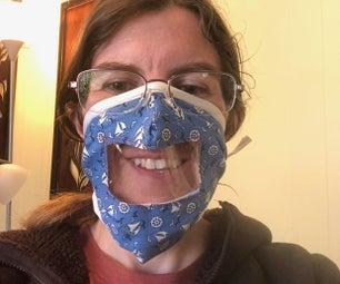 适合聋人、聋哑人士及重听人士使用的口罩