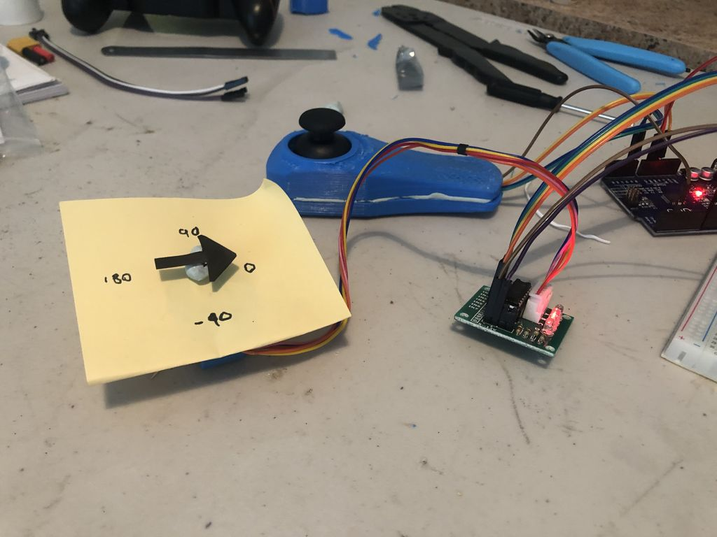 Picture of Angular Positional Control of 28BYJ-48 Stepper Motor With Arduino & Analogue Joystick