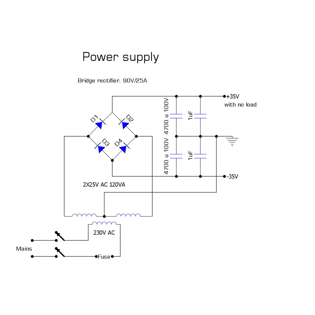Picture of Electronic Design (Power Supply)