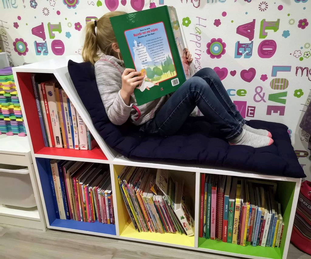 Making a Reading Bench for Children