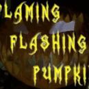 Flaming Flashing Pumpkin