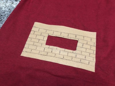 Affix Hearth to Shirt