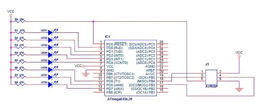 Picture of The First Atmega8 Project