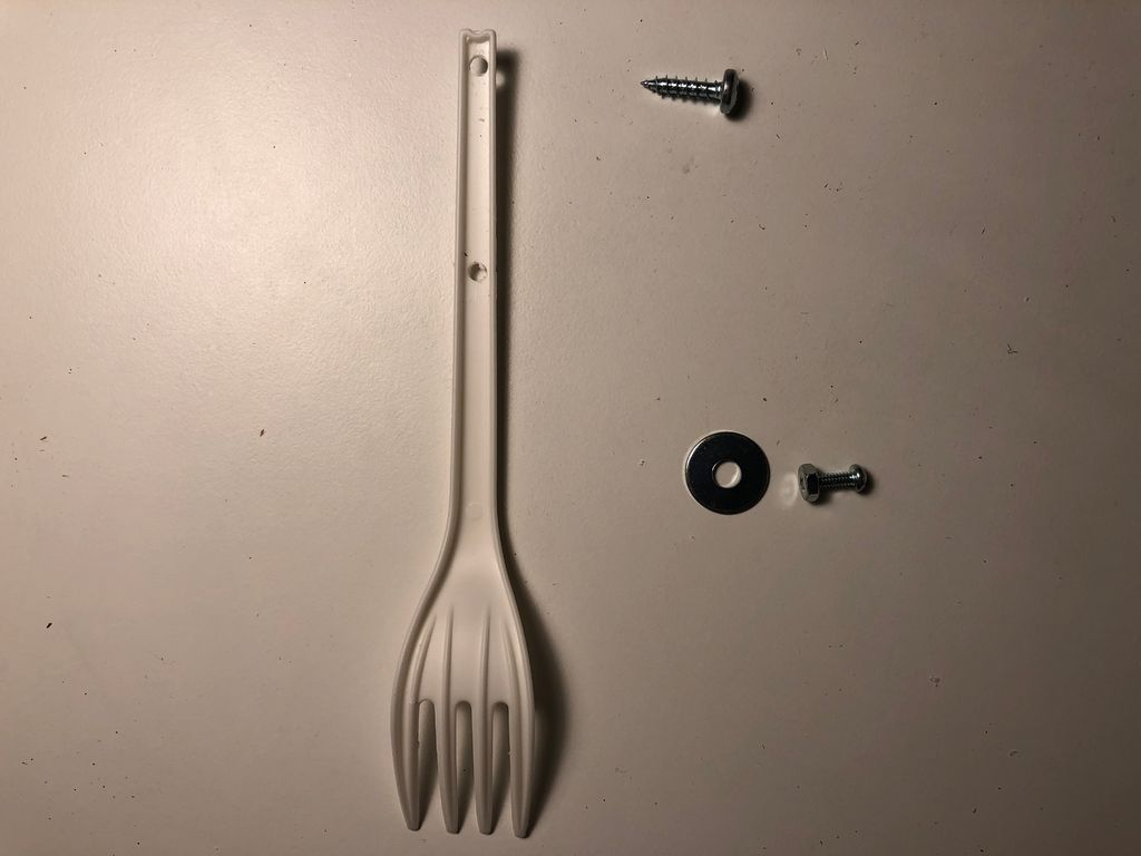 Picture of Attach Ghosty or Skully to the Pan/tilt Mechanism