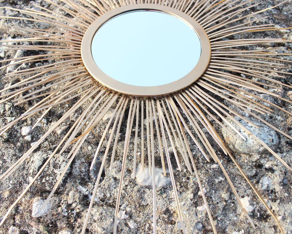 Picture of Mid Century Sunburst Mirror