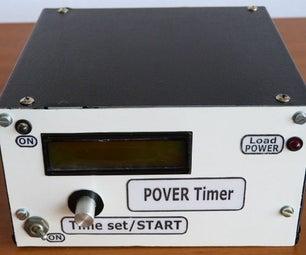 电源计时器随着Arduino的和旋转编码器