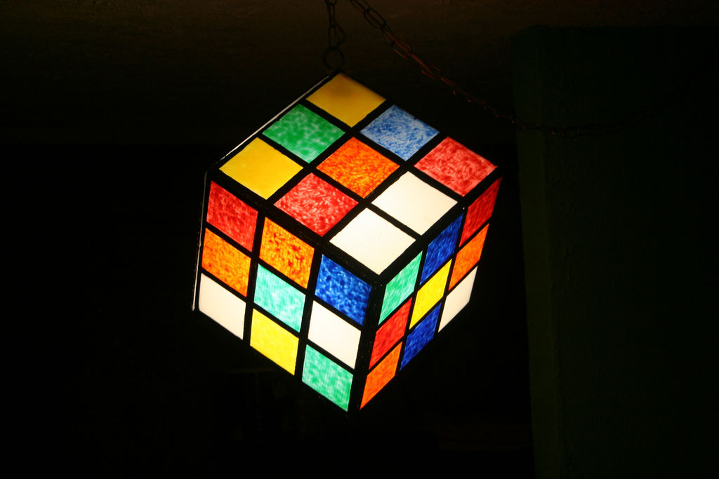 Picture of Cube Light Ala Rubik Cube Light of Awesomeness