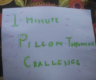 PILLOW PING-PONG (SPEED EXERCISE)