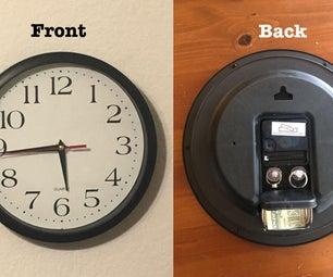 DIY Super Secret Safe Clock