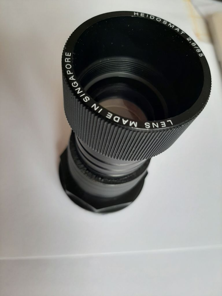 Picture of How to Make an Adjustable Helicoid Adapter for a 85mm Projector Lens, From a Polypropylene Tube Connector