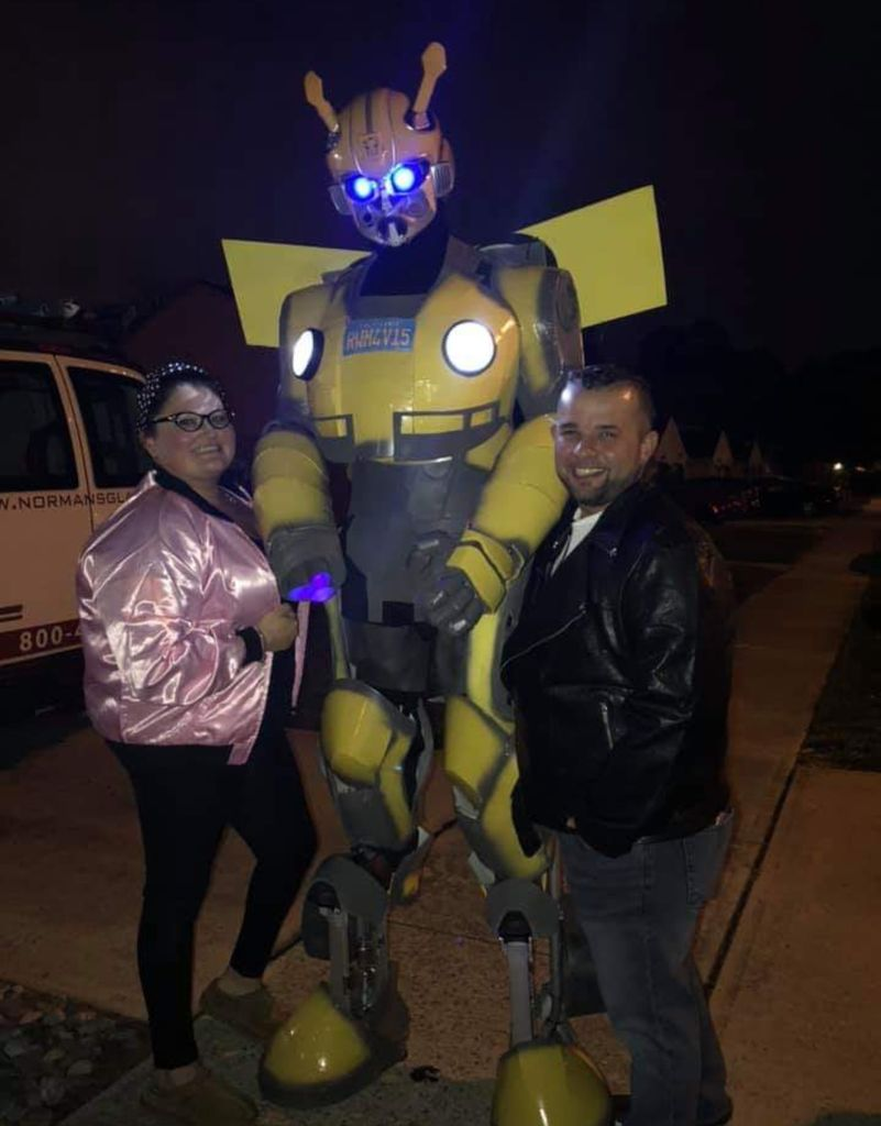 Picture of Bumblebee Transformer Costume